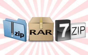 Descompactador de arquivos (*.zip, *. 7z, *.rar e etc.)